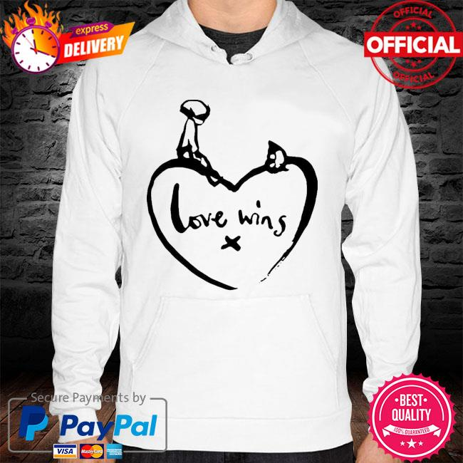 Original love wins shirt comic relief hoodie