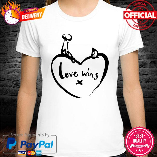 Original love wins shirt comic relief shirt