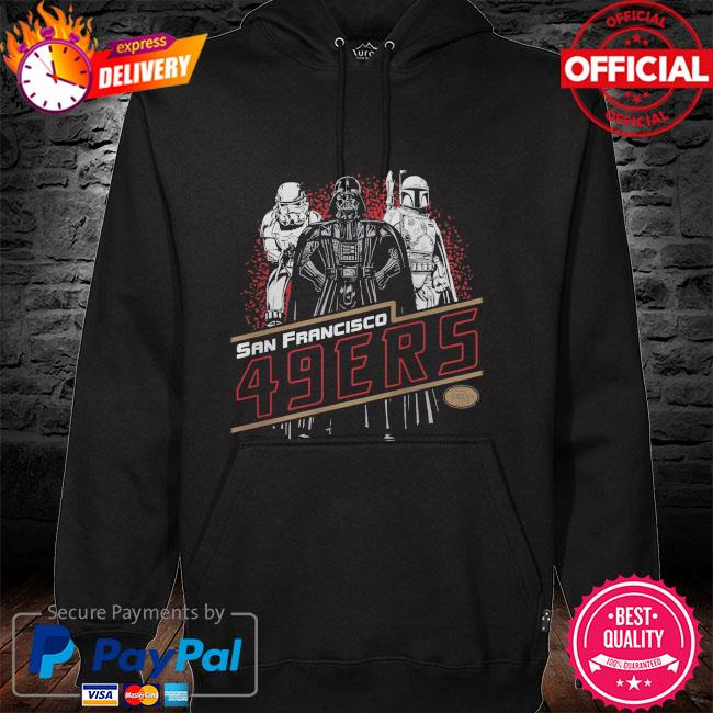 San Francisco 49ers Empire Star Wars hoodie
