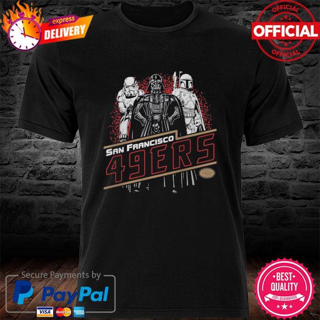 San Francisco 49ers Empire Star Wars shirt