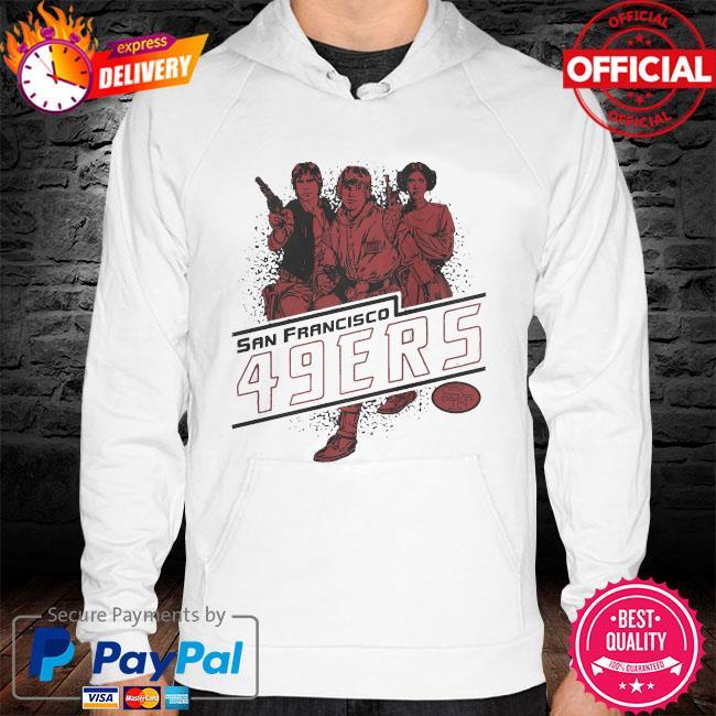 San Francisco 49ers Rebels Star Wars hoodie