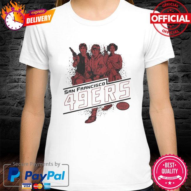 San Francisco 49ers Rebels Star Wars shirt