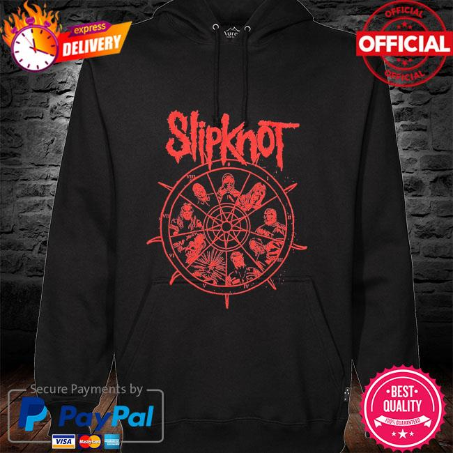 Slipknot Wheel shirt hoodie