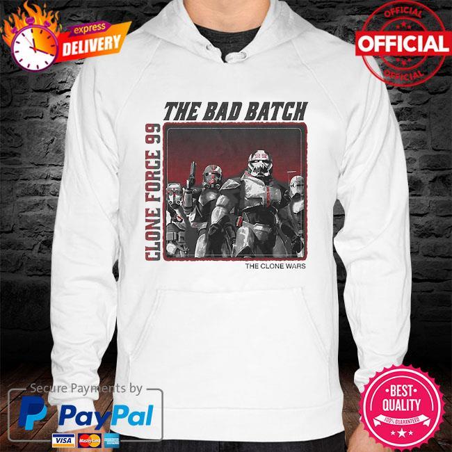 Star Wars The Bad Batch Clone force 99 The clone wars hoodie
