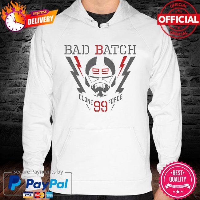 Star Wars The Bad Batch Lightning Clone Force 99 hoodie