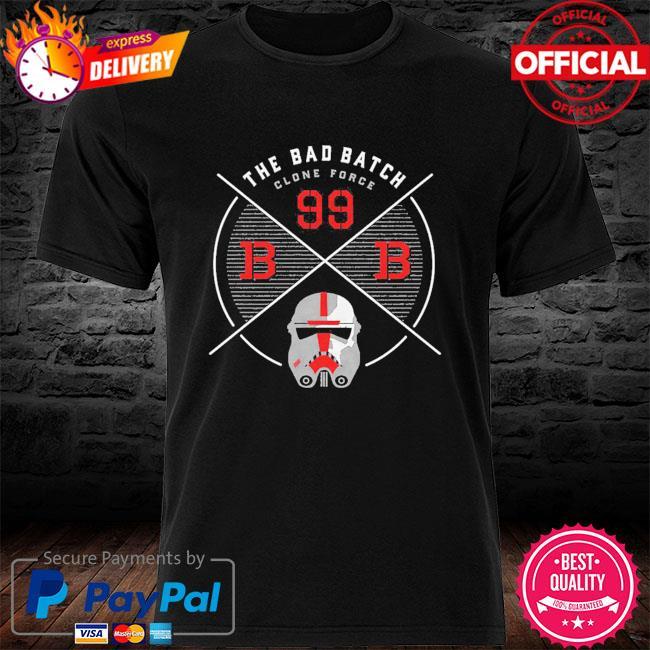 Star Wars The Bad Batch The Bad Badge shirt