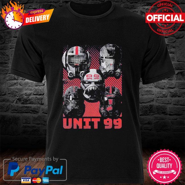Star Wars The Bad Batch Unit 99 shirt