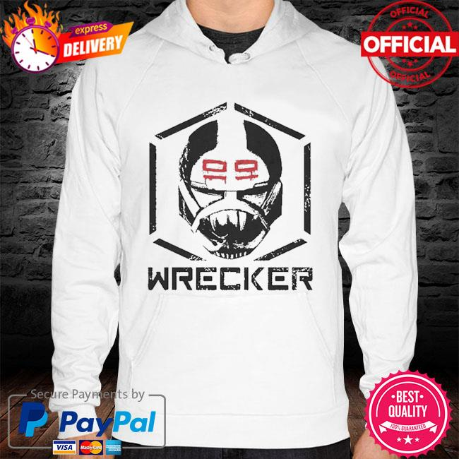 Star Wars The Bad Batch Wrecker face hoodie