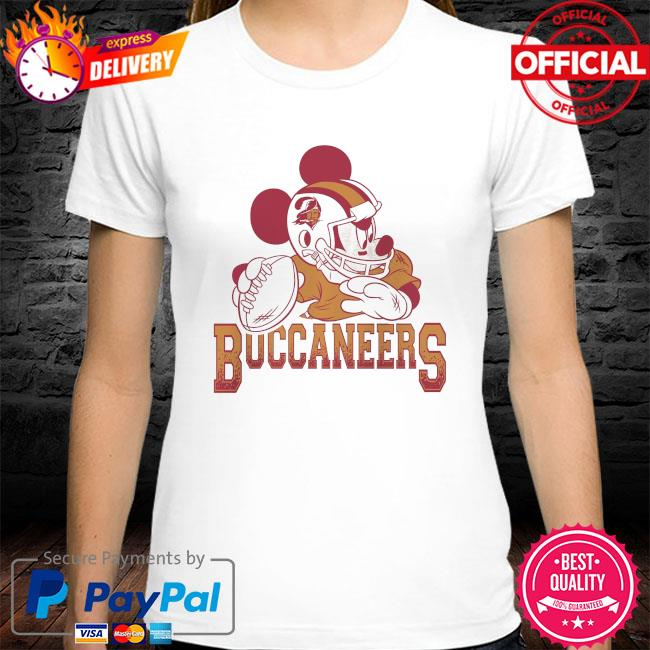 Tampa Bay Buccaneers Disney Mickey shirt