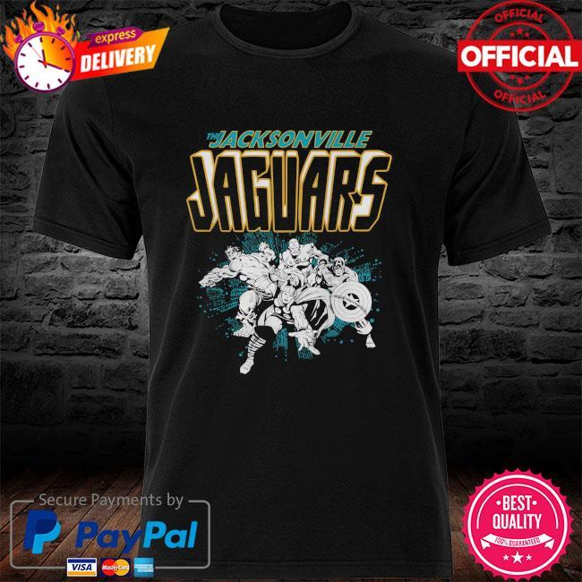 The Jacksonville Jaguars Marvel shirt