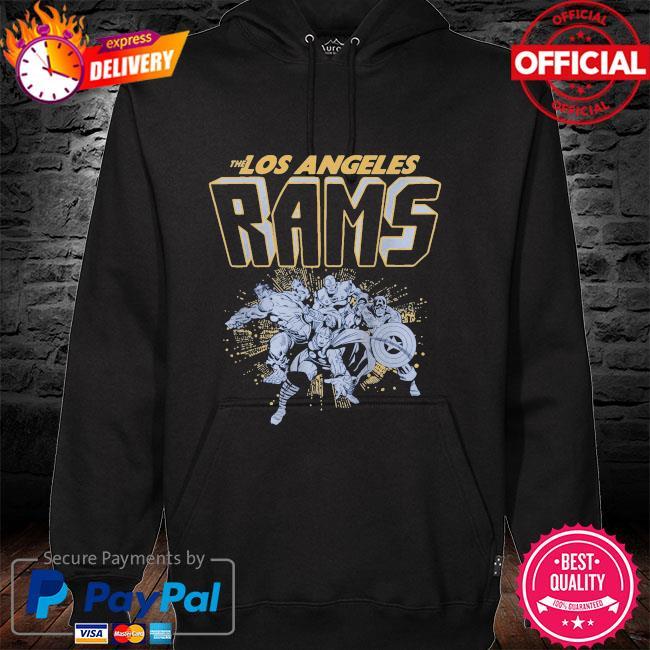 The Los Angeles Rams Marvel hoodie