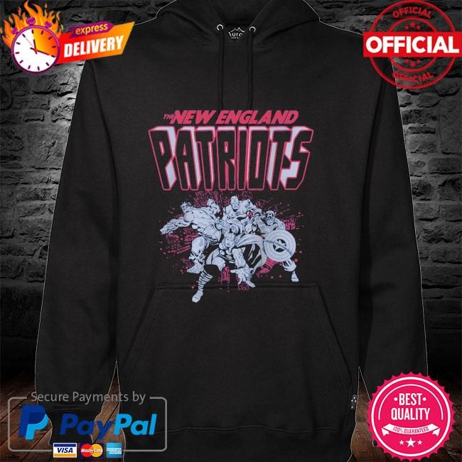 The New England Patriots Marvel hoodie