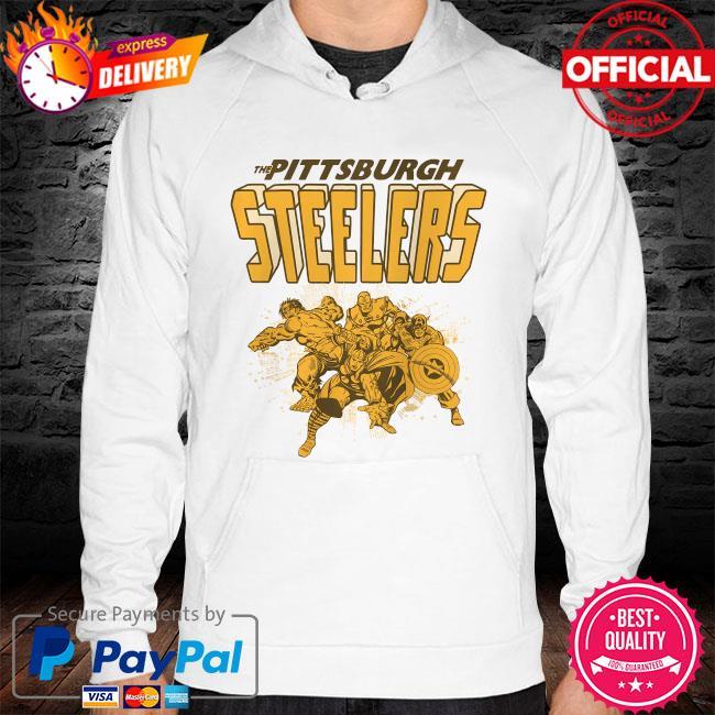 The Pittsburgh Steelers Marvel Avengers hoodie