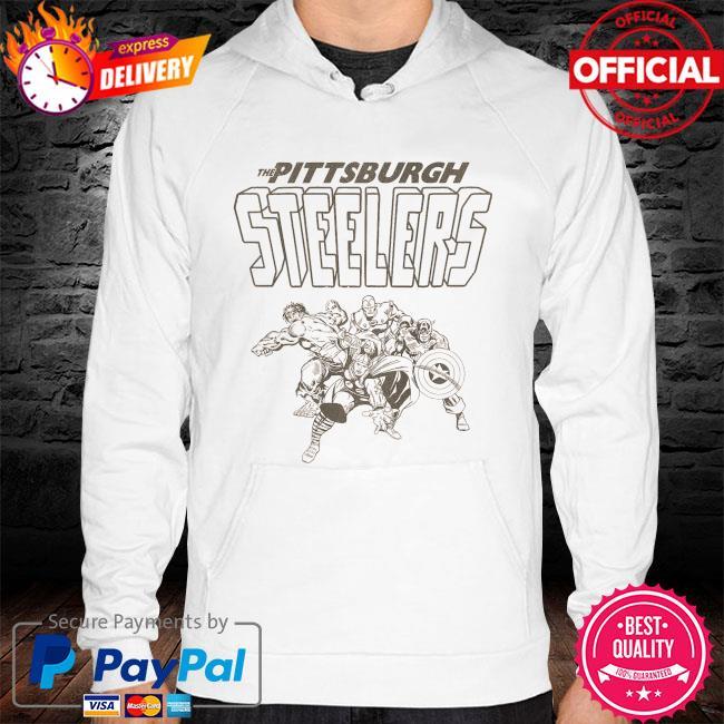 The Pittsburgh Steelers Marvel hoodie