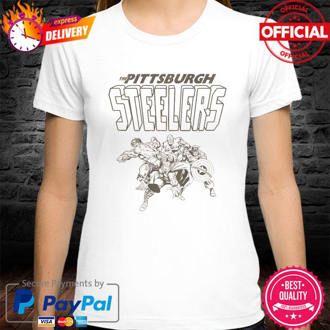The Pittsburgh Steelers Marvel shirt