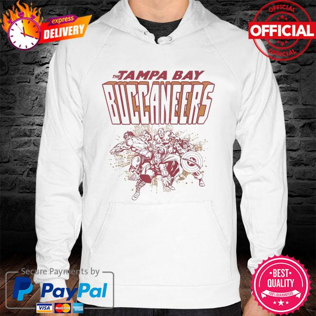 The Tampa Bay Buccaneers Marvel hoodie