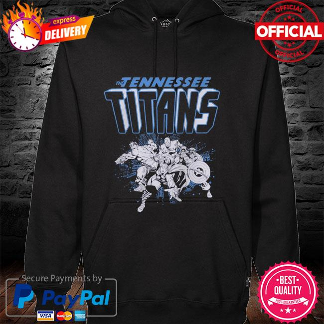 The Tennessee Titans Marvel Avengers hoodie