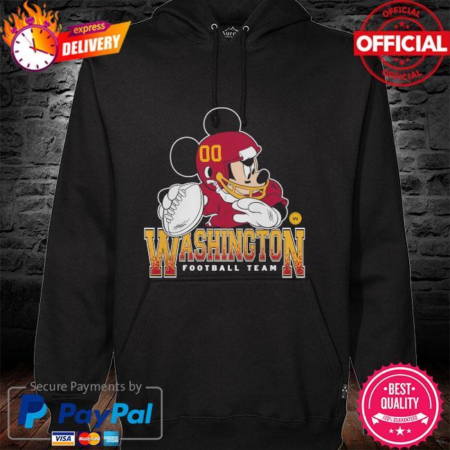 Washington Football Team Disney Mickey hoodie