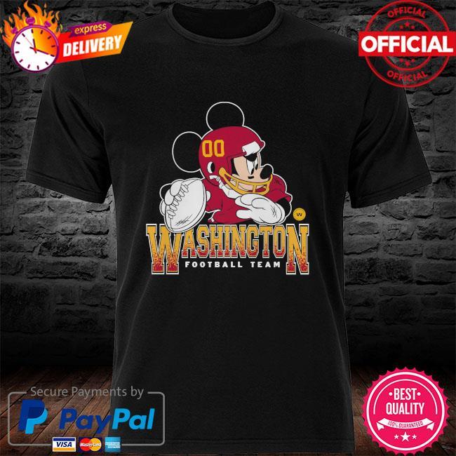 Washington Football Team Disney Mickey shirt