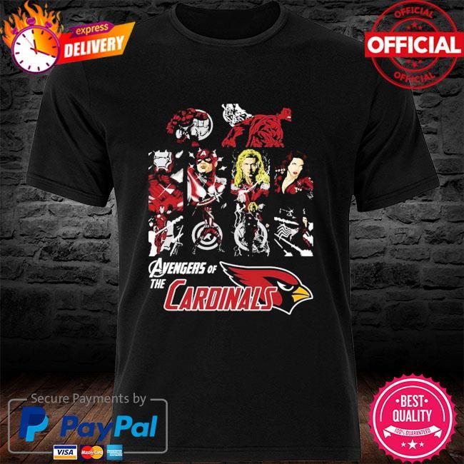 Arizona Cardinals Avengers Dc Marvel Jersey Superhero Avenger shirt