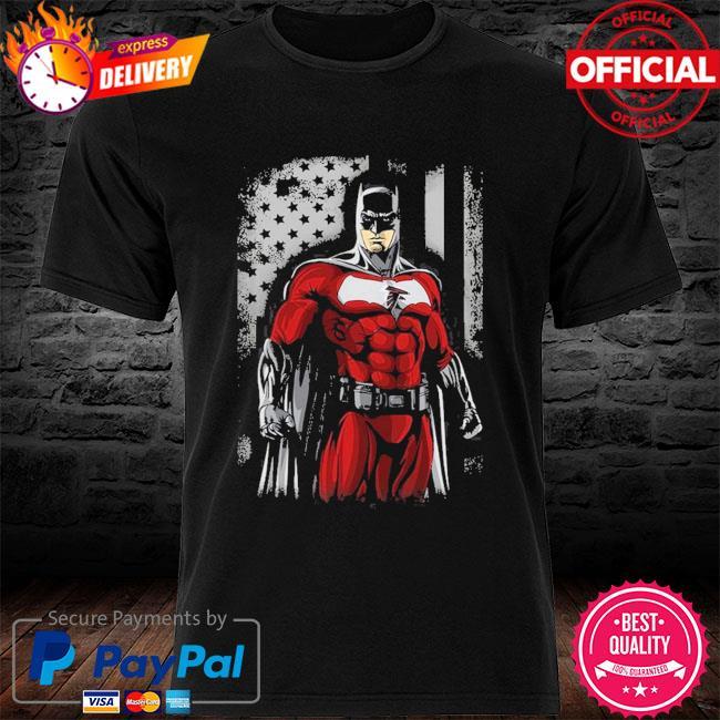 Atlanta Falcons Batman Flag Dc Marvel Jersey Superhero Avenger shirt