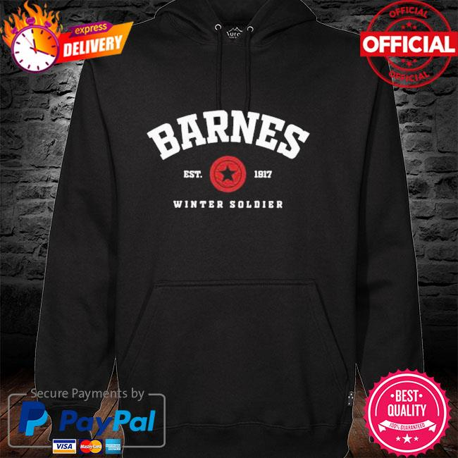 Barnes Est 1917 winter soldier hoodie