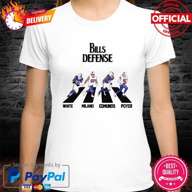 Bills Defense Abbey Road shirt