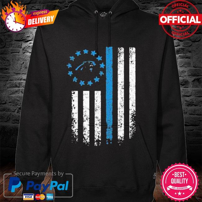 Carolina Panthers American Flag Star Shirt hoodie