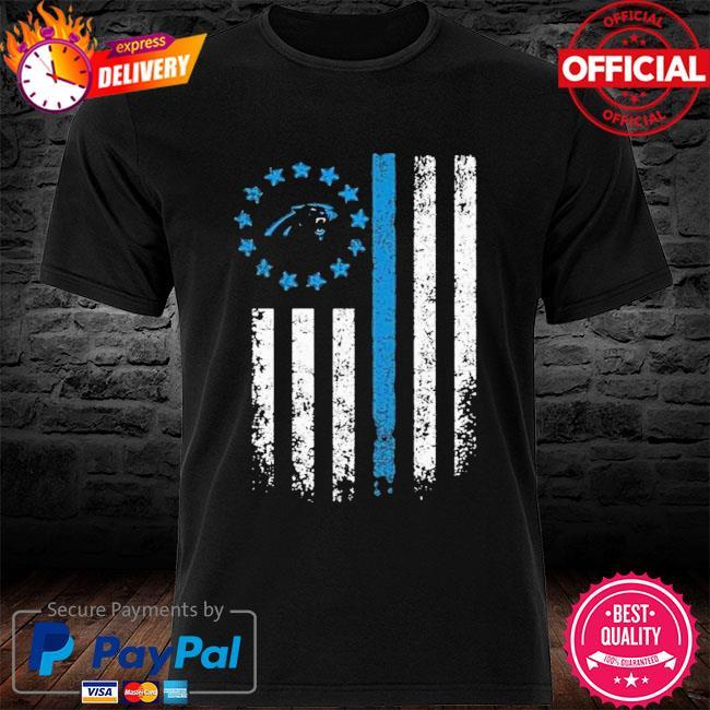 Carolina Panthers American Flag Star Shirt