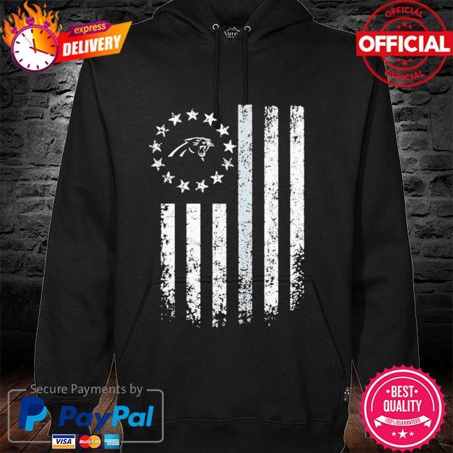 Carolina Panthers American Flag Stars Shirt hoodie