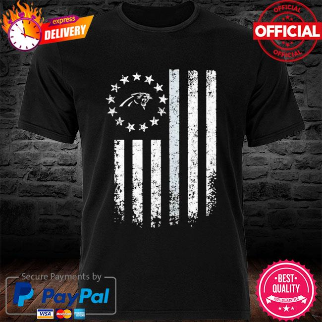 Carolina Panthers American Flag Stars Shirt