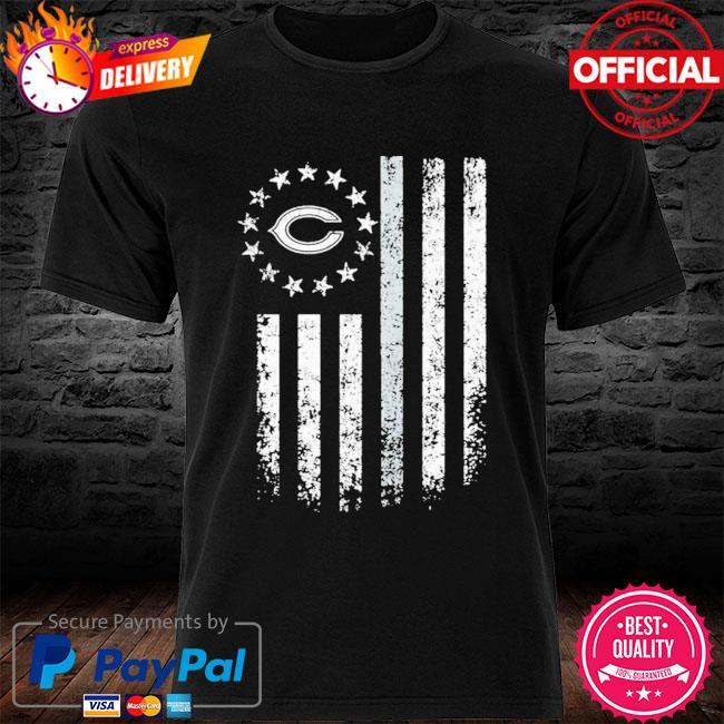 Chicago Bears American Flag Stars Shirt