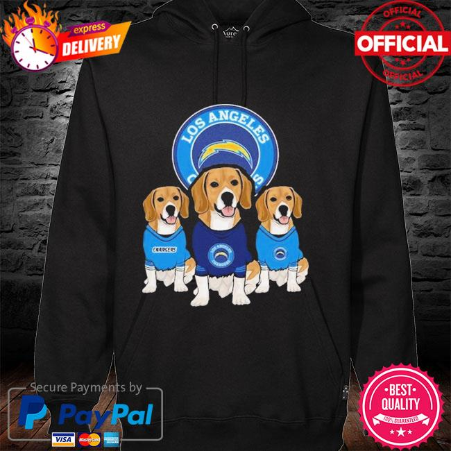 Dachshund Los Angeles Chargers Beagles Fan Shirt hoodie