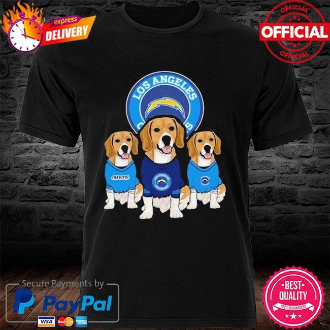 Dachshund Los Angeles Chargers Beagles Fan Shirt