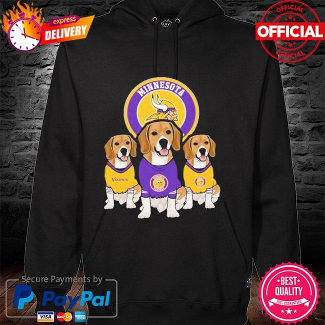 Dachshund Minnesota Vikings Beagles Fan Shirt hoodie