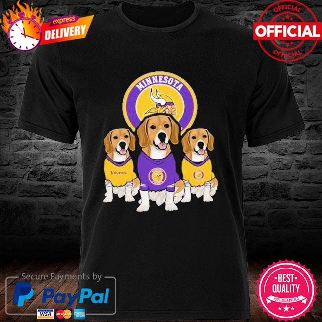 Dachshund Minnesota Vikings Beagles Fan Shirt