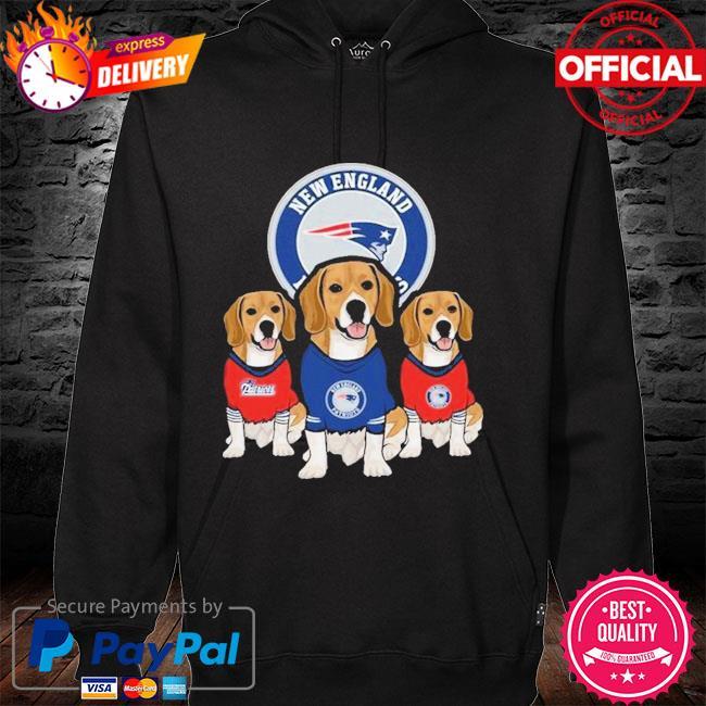 Dachshunds New England Patriots Beagles Fan Shirt hoodie