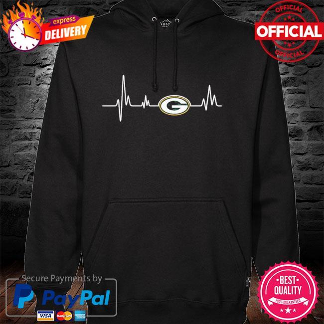 Green Bay Packers Heartbeat hoodie