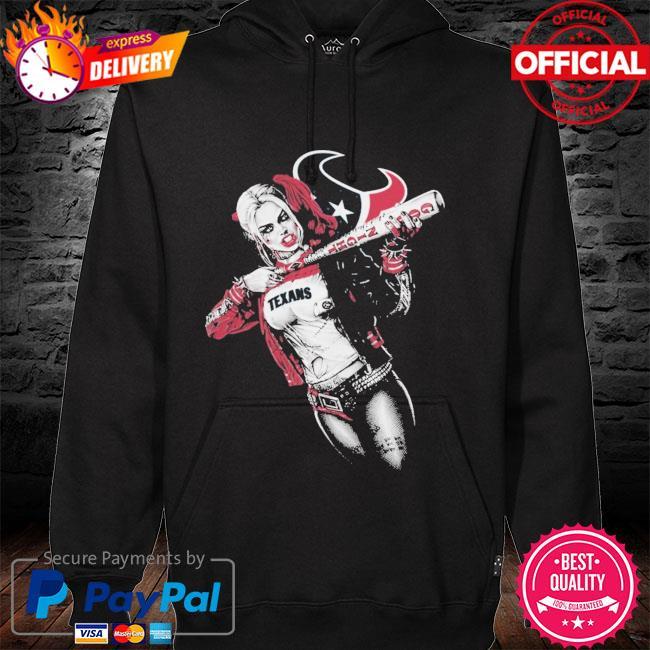 Houston Texans Harley Quinn hoodie