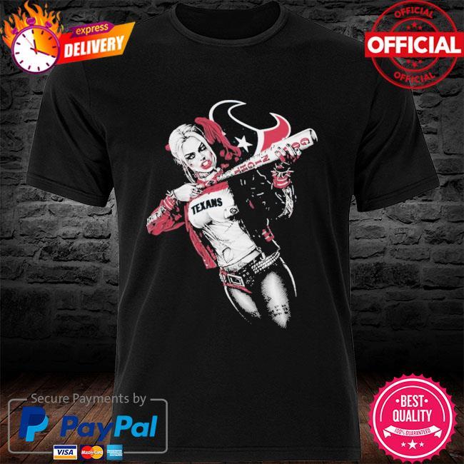 Houston Texans Harley Quinn shirt