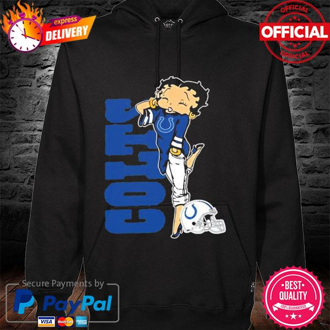 Indianapolis Colts Betty Boop Fan Shirt hoodie