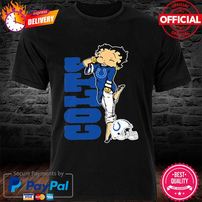 Indianapolis Colts Betty Boop Fan Shirt