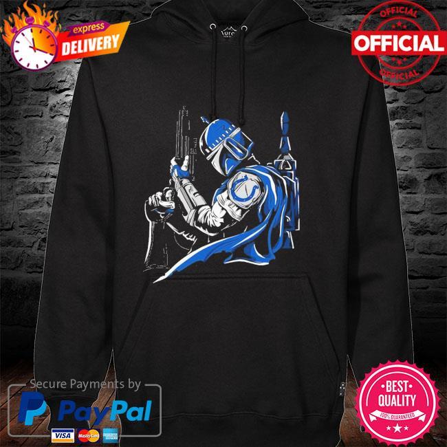 Indianapolis Colts Boba Fett Star Wars hoodie