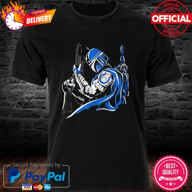 Indianapolis Colts Boba Fett Star Wars shirt