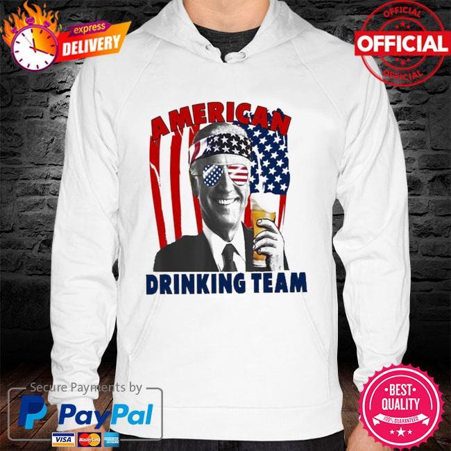 Joe Biden drinking beer shirt 4th of july hoodie