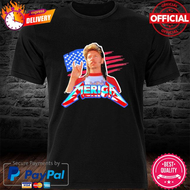Joe dirt 4th of july bleached American shirt