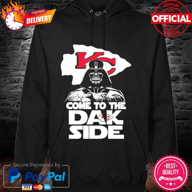 Kansas City Chiefs Come To The Dak Side Dark Vader hoodie