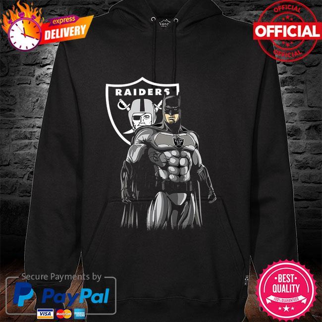 Las Vegas Raiders Batman Dc Marvel Jersey Superhero Avenger hoodie