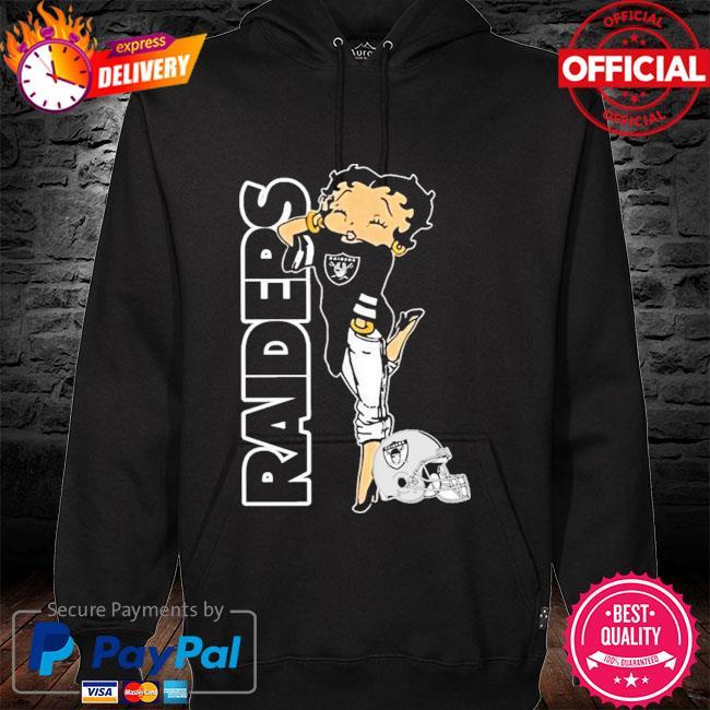 Las Vegas Raiders Betty Boop Fan Shirt hoodie