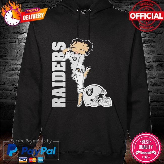 Las Vegas Raiders Betty Boops hoodie